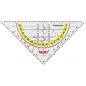 Brunnen Geometrie-Dreieck 16 cm glasklar