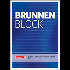 """Brunnen Block """"BRUNNEN-Block"""" A5 liniert 50Bl 1052427"""