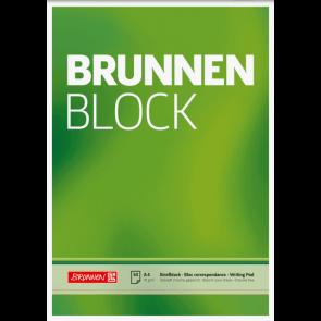 """Brunnen Block """"BRUNNEN-Block"""" DIN A4 unliniert"""