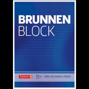 """Brunnen Briefblock """"BRUNNEN-Block"""" DIN A4 liniert"""