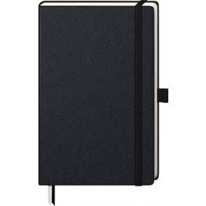 Brunnen Notizbuch Kompagnon A5 105522805  kariert schwarz