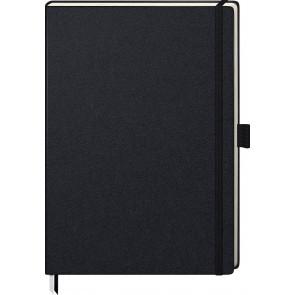 Brunnen Notizbuch Kompagnon A4 105528705 liniert schwarz