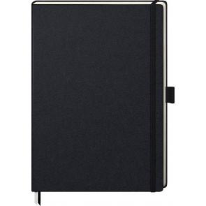 Brunnen Notizbuch Kompagnon A4 105528805 kariert schwarz