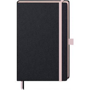 Brunnen Notizbuch Kompagnon 105572827 A5 kariert 80 g/m² rosé