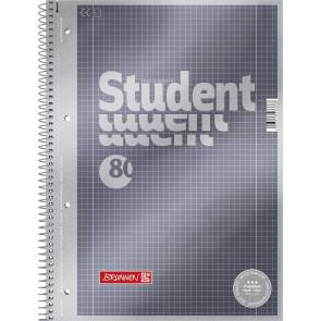 Brunnen  Collegeblock A4 1067128 Lineatur 28 kariert 80 Blatt Premium