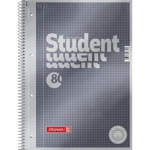 Collegeblock A4 kariert Premium