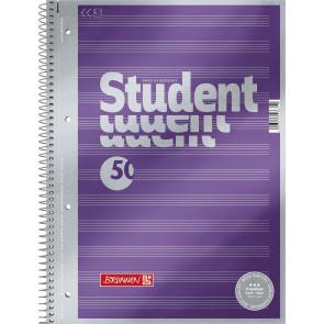 Brunnen Collegeblock DIN A4 Notenlineatur 50 Blatt Premium