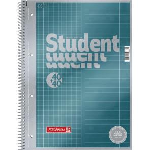 Brunnen Collegeblock Duo A4 Lineatur 28 + 27 40 + 40 Blatt Premium
