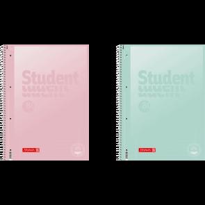 Brunnen Collegeblock Premium Student DIN A4 liniert, Lin. 27 in verschiedenen Farben