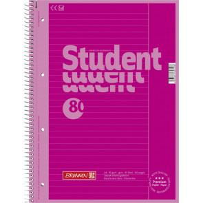 Brunnen Collegeblock A4 1067925126 pink Lineatur 25