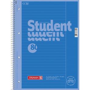 Brunnen Collegeblock A4 1067925133 azur Lineatur 25