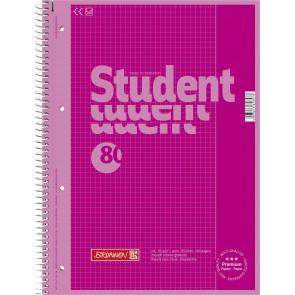 Brunnen Collegeblock A4 1067926126 pink Lineatur 26
