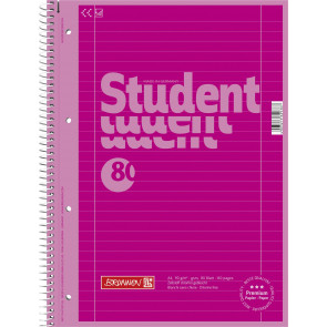 Brunnen Collegeblock A4 1067927126 pink Lineatur 27