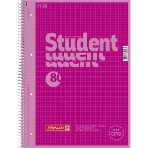 Brunnen Collegeblock A4 1067928126 pink Lineatur 28