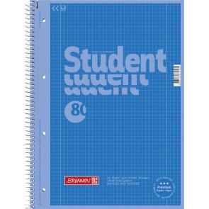 Brunnen Collegeblock A4 1067928133  azur Lineatur 28
