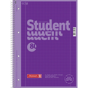 Brunnen Collegeblock DIN A4 Lineatur 28 80 Blatt Purple