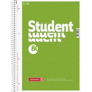 Brunnen Collegeblock A4 1067940  unliniert 80Bl