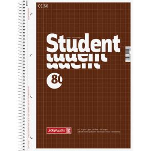 Brunnen Collegeblock A4 1067943 raut 80Blatt