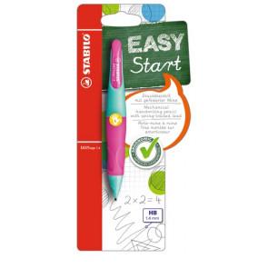 Stabilo Druckbleistift EasyErgo 1,4mm L türkis-neonpink Linkshänder Stabilo