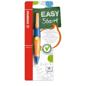 Stabilo Druckbleistift EasyErgo 1,4mm L ultramarinblau- neonorange Linkshänder
