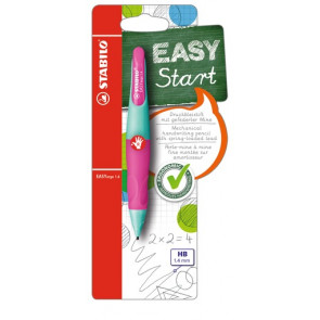 Stabilo Druckbleistift EasyErgo 1,4mm R türkis-neonpink Rechtshänder Stabilo