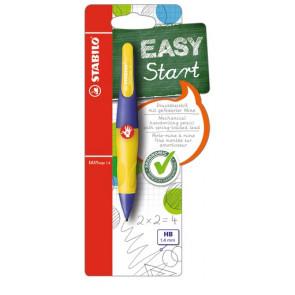 Stabilo Druckbleistift EasyErgo 1,4mm R violett-neongelb Rechtshänder Stabilo
