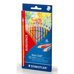 Staedtler Farbstift Etui Noris Club Jumbo Bonuspack 61SET8 02