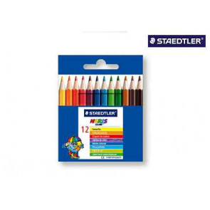 Staedtler Farbstift Kurz 12Er-Etui Noris Club