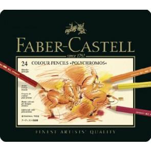 Faber Castell Künstlerstift Polychromos 9201 24Er Etui