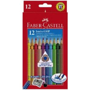 Faber Castell Farbstifte Jumbo Grip 12er Schachtel 110912