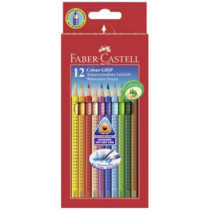 Faber Castell Farbstifte Grip Normal 12er Pappetui 112412