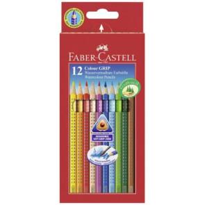 Faber Castell Farbstifte Grip Normal 12er Pappetui 112412