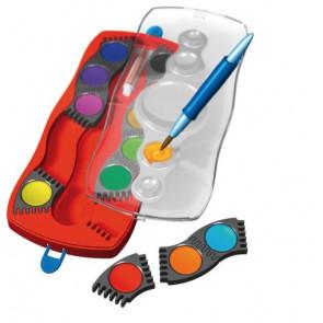 Faber-Castell Deckfarbkasten Connector 12 Farben