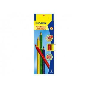 Lyra Farbstift-Riesen 6er Lyra 94006-940K06-3941060