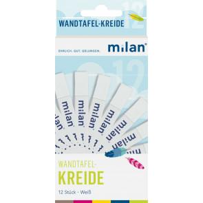 Milan Milan Tafel-Kreide Weiss 12er-Sc 9cm Milan 303