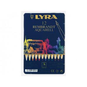 Lyra Aquarell-Farbstifte Rembrandt 12er Set