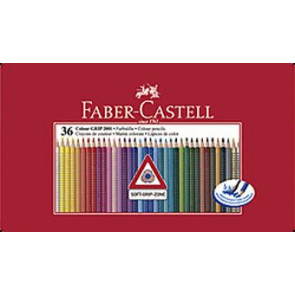 Faber Castell Farbstifte Grip Normal 36er Blechetui