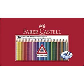 Faber Castell Farbstifte Grip Normal 36er Blechetui