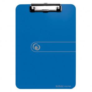 Klemmbrett Polystyrol DIN A4 opak blau