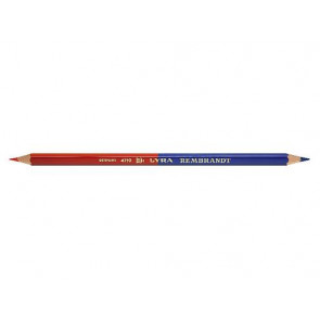 Lyra Farbkopierstift Duo Slim zweifarbige Mine rot-blau sechskant dünn 2920101