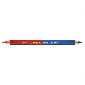 Lyra Farbkopierstift Duo Giant zweifarbige Mine rot-blau sechskant dick 2930101