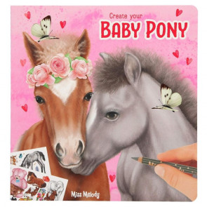 Miss Melody Malbuch Create your Baby Pony || Depesche 10466