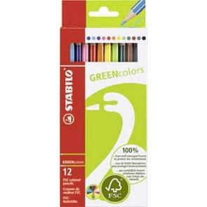 Stabilo Farbstift Greencolors 12Er-Sc 60192121 Stabilo Fcs-Zertifiziert