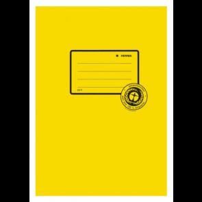 Herma Heftumschlag Papier Recycling DIN A5 Gelb (Heftschoner)