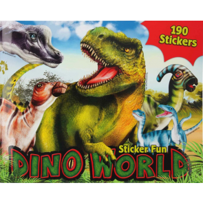 Dino World Malbuch mit Sticker Fun | Depesche 11160
