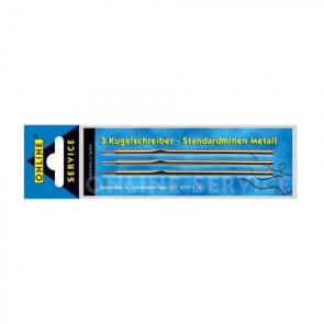 Online Kugelschreiber Minen 3er Metall Standard blau Online 40000/3 und 95156