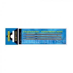 Online Kugelschreiber Minen 3er Metall Standard schwarz Online 40001/3 und 95157