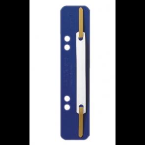 Leitz Einhänge-Heftstreifen 3710 Kurz DIN A4 Blau 25 Stück