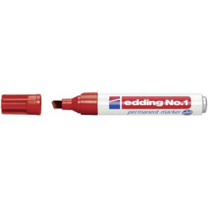Edding Edding Filzschreiber 1 Rot