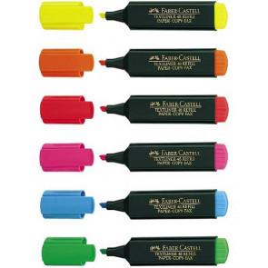 Faber Castell Textmarker 6Er-Etui Textliner 48 Fc